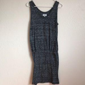 Lou & Grey Casual Heather Grey Dress - Size Small
